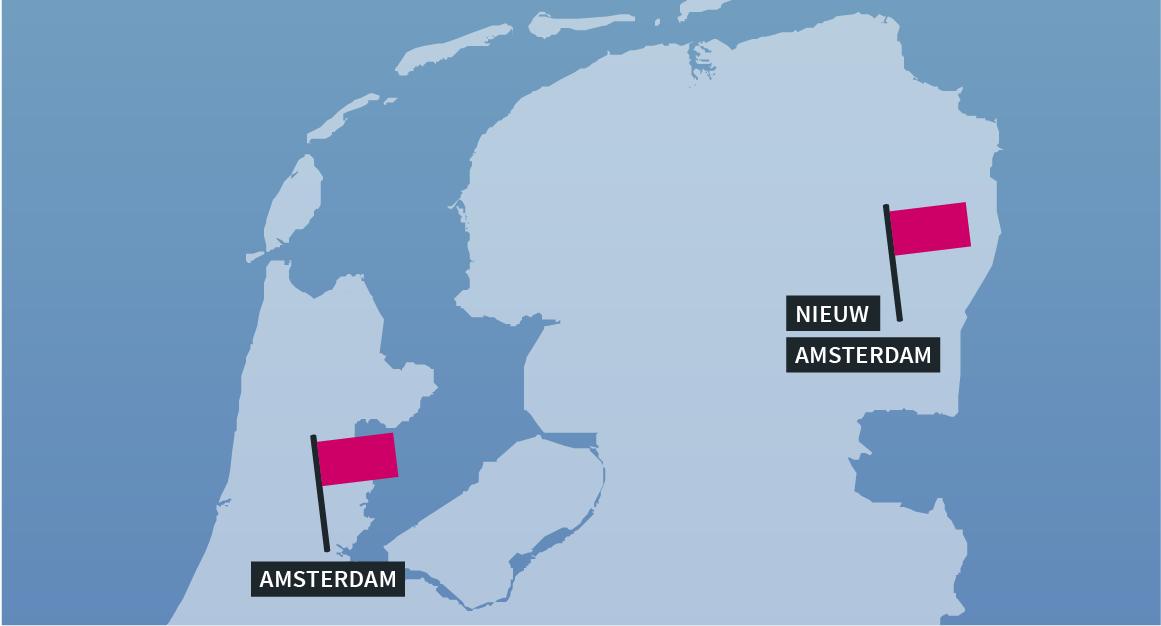Autoverzekering Amsterdam 50% duurder dan in Nieuw-Amsterdam